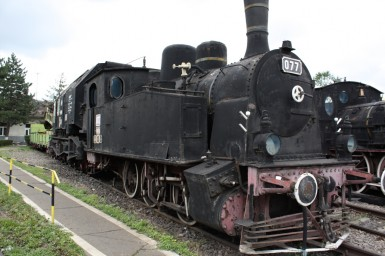 CFR 077 at Sibiu Steam Locomotive Museum 01