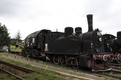 CFR 077 at Sibiu Steam Locomotive Museum 03